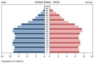 アメリカ 人口ピラミッド